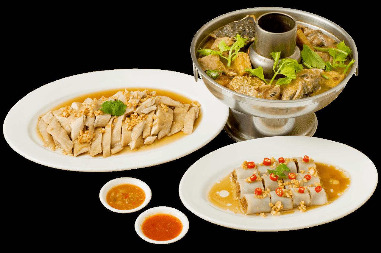 อาหารชุดโต๊ะจีน